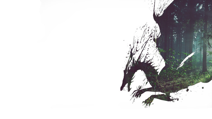 HD Wallpaper Video Game, Dragon Age, Background, White