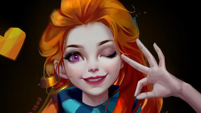 HD Wallpaper League Of Legends, Zoe, Video Game
