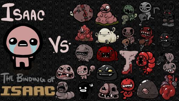 HD Wallpaper of THE BINDING OF ISAAC, Characters, Monsters