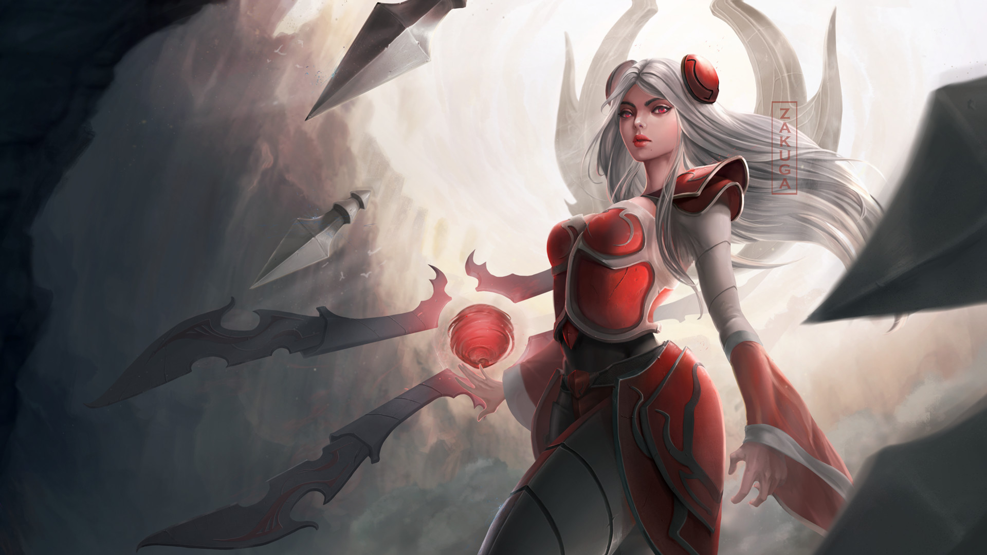 Wallpaper Of Irelia League Of Legends Video Game Background Hd