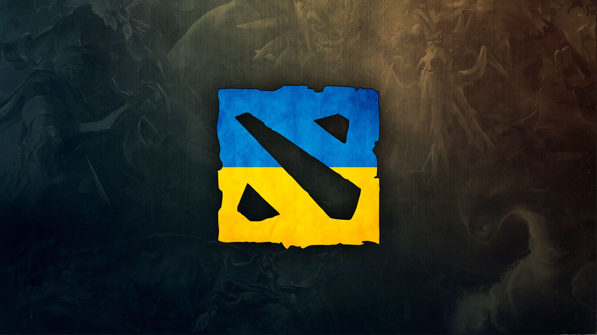 HD Wallpaper Of Dota 2 Ukraine Logo