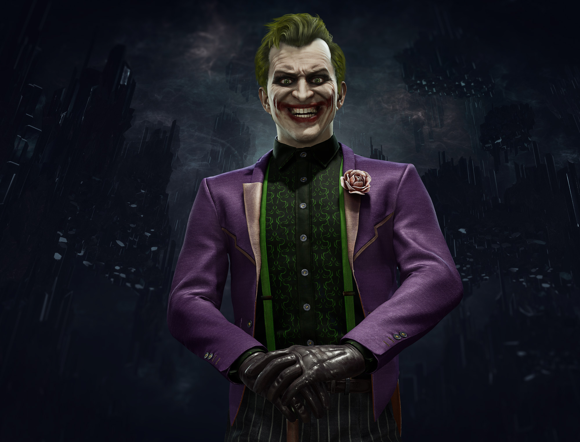 Video Game Joker Mk 11 Mortal Kombat 11 Wallpaper