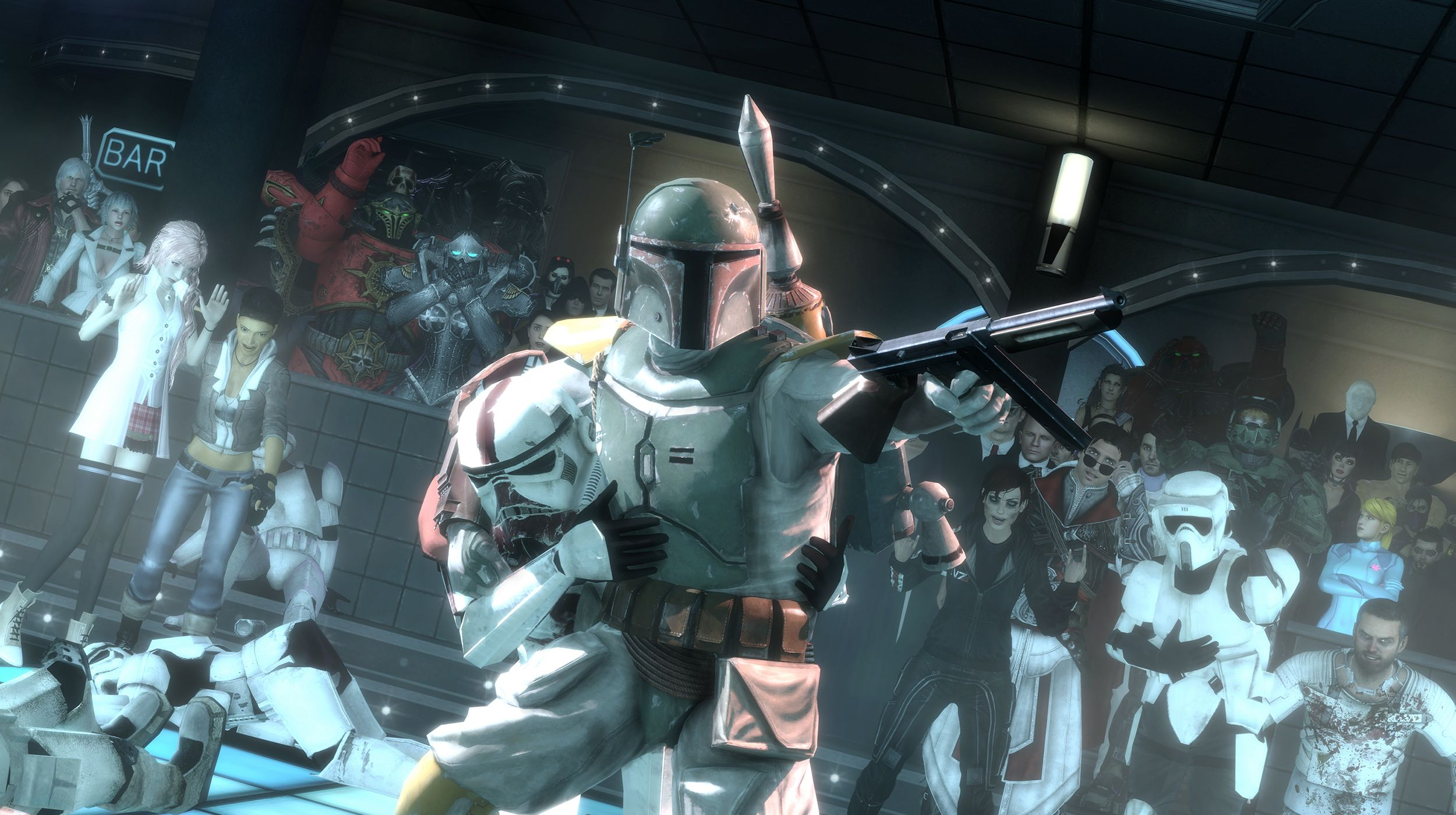 Wallpaper Of Boba Fett Star Wars Garrys Mod Background