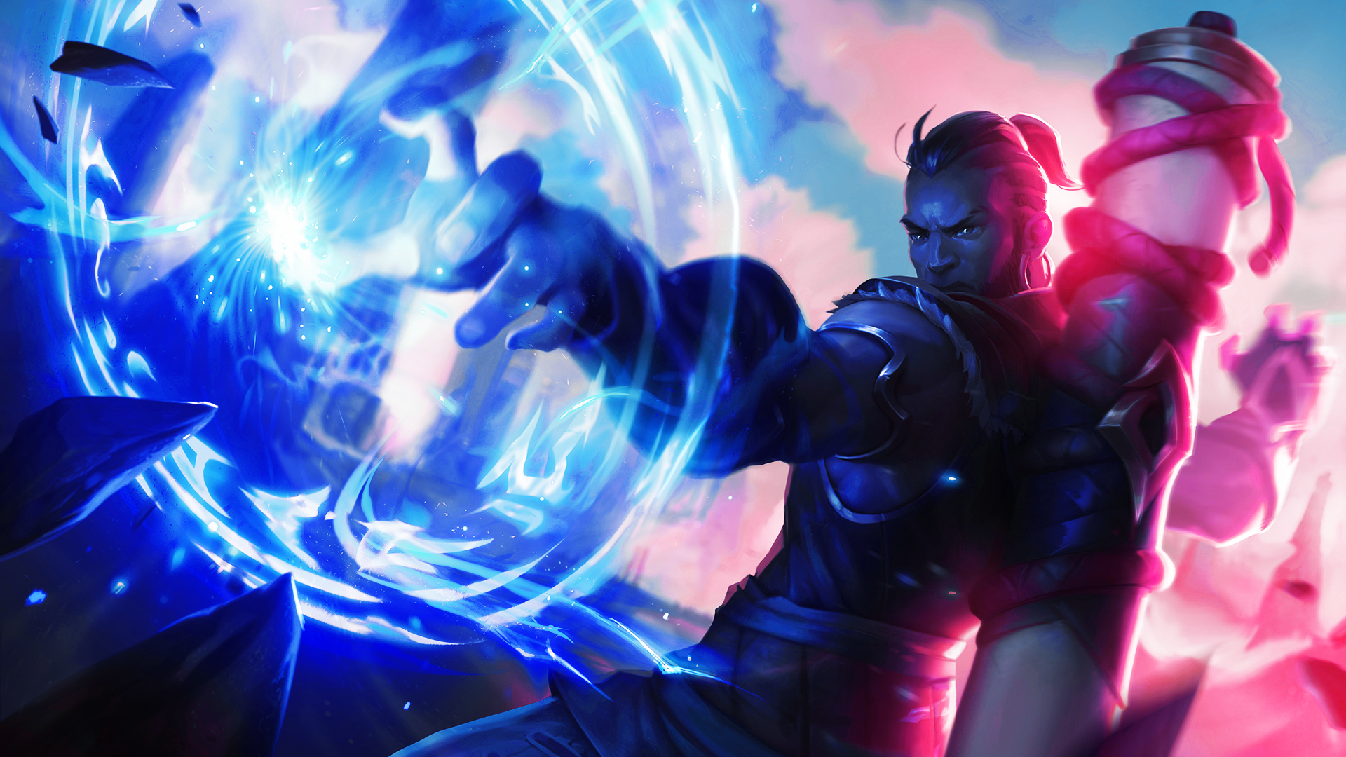 Wallpaper Of League Of Legends Ryze Video Game Background