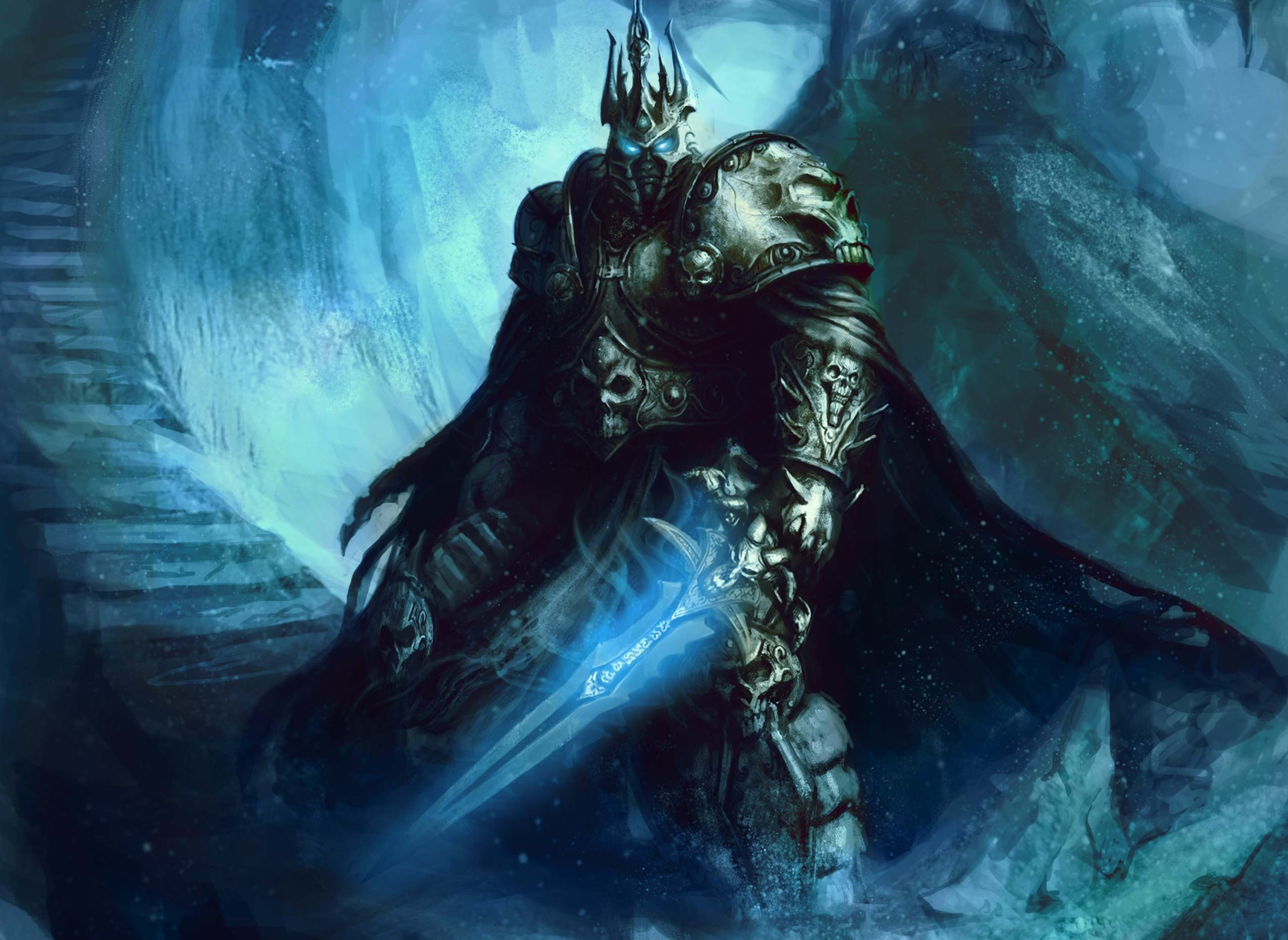 Wallpaper Of Fanart World Of Warcraft Lich King Arthas
