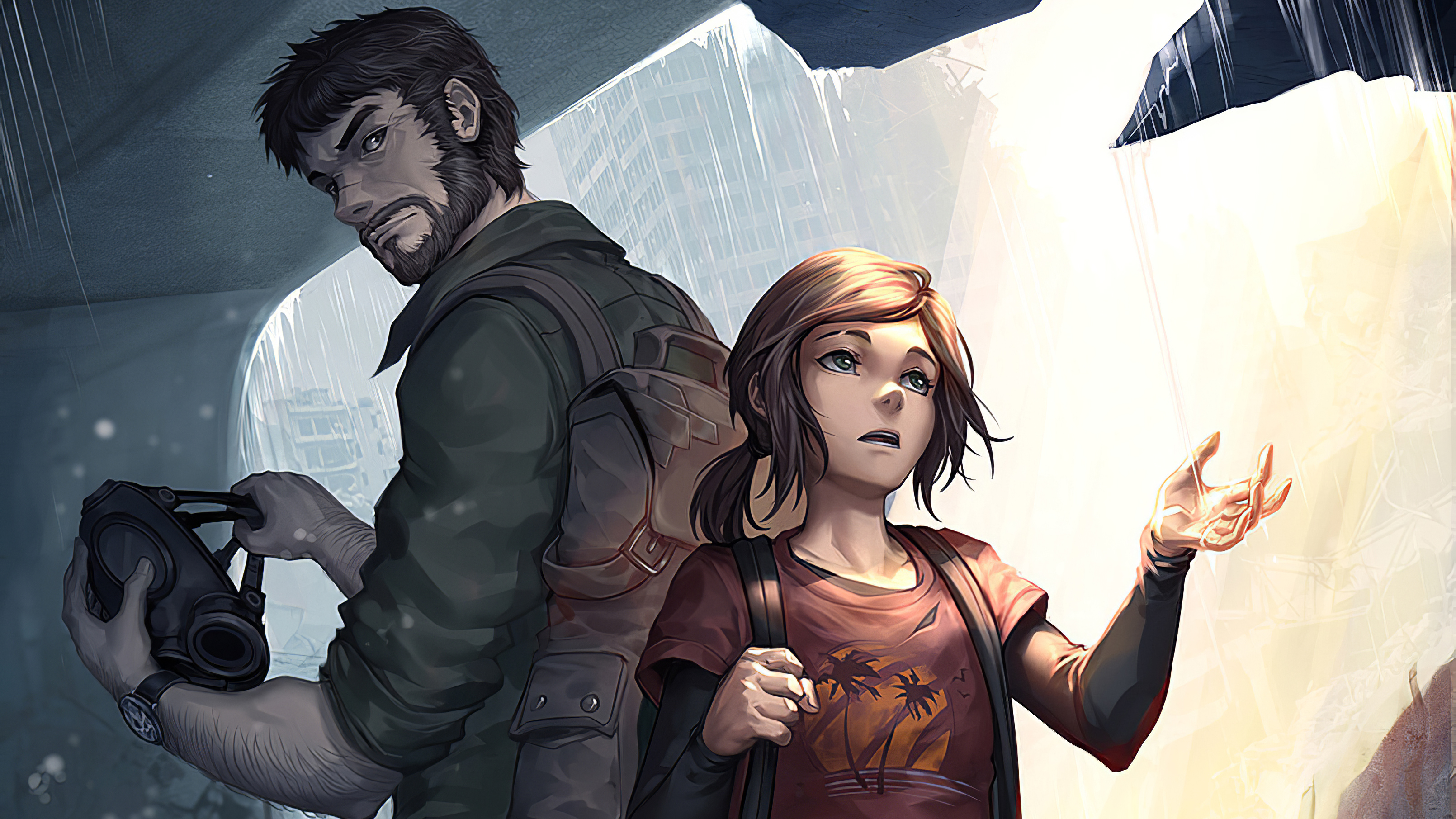 Wallpaper Of Ellie Joel The Last Of Us Part Ii Background Hd Image