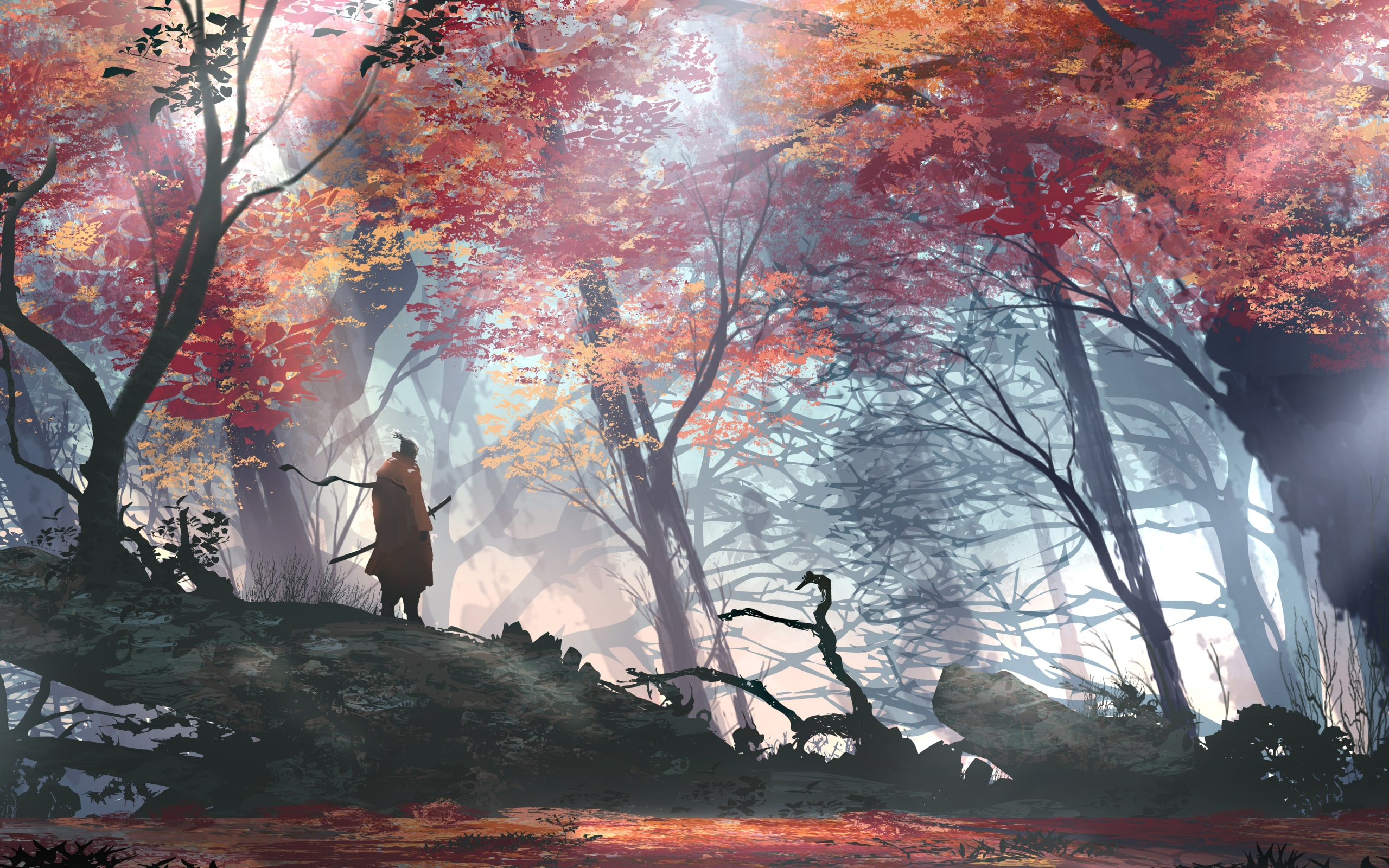 Wallpaper Of Video Game Sekiro Shadows Die Twice Background Hd Image