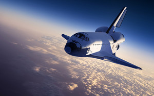Preview wallpaper of Cloud, Space, Space Shuttle
