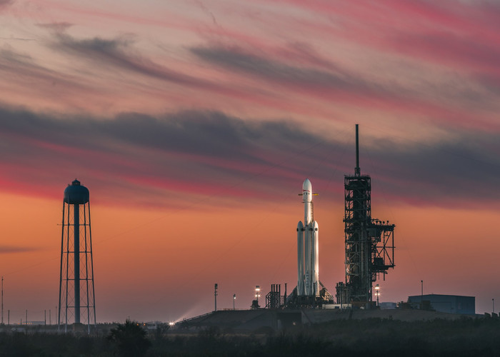 HD Wallpaper Cape-Canaveral Falcon-Heavy, Rocket, SpaceX