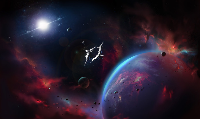 HD Wallpaper Astronaut, Planet, Space, Sci Fi