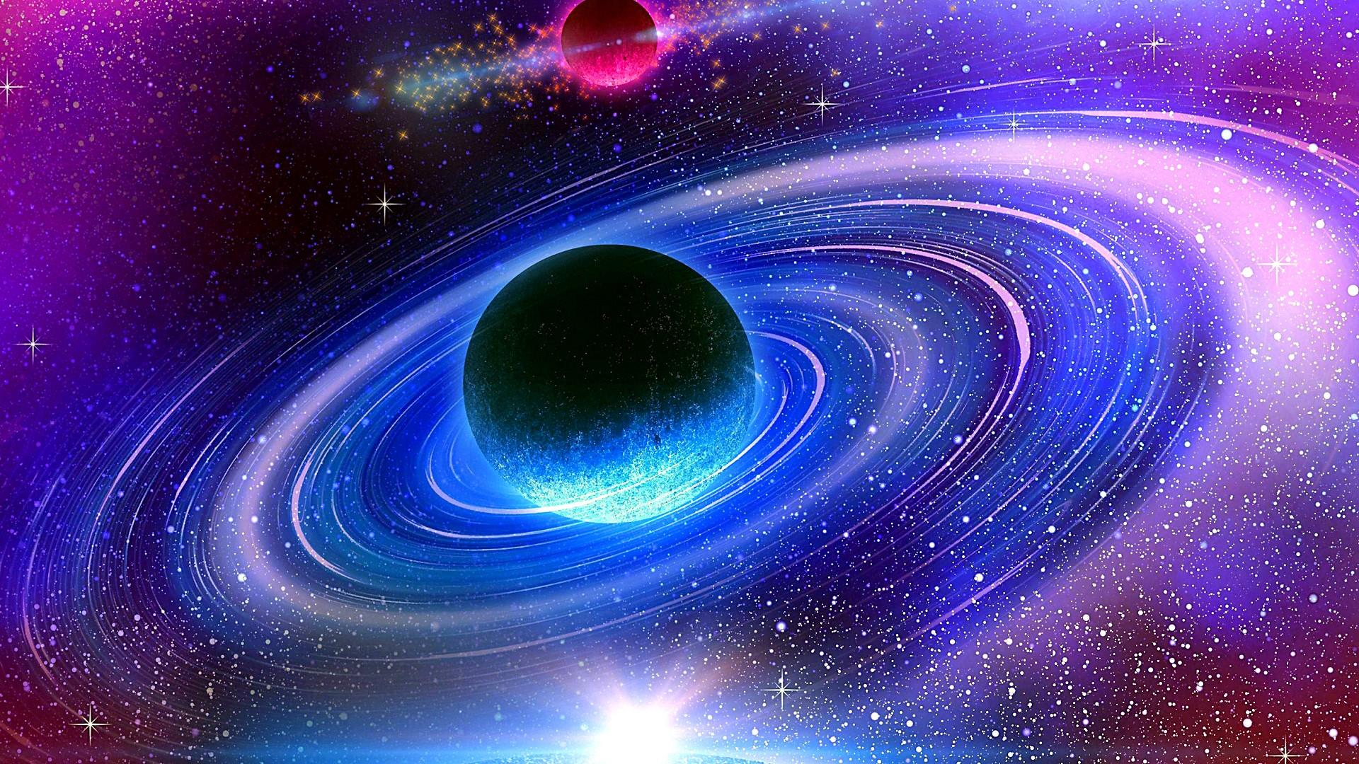 Wallpaper of planet space star galaxy background hd image - Galaxy and planets ...