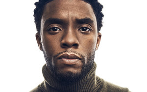 Preview wallpaper of Actor, American, Brown Eyes, Chadwick Boseman