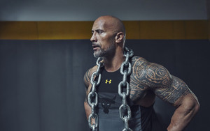 Preview wallpaper of Actor, American, Dwayne Johnson, Tattoo