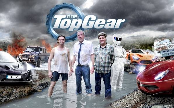 Обои Jeremy Clarkson, James May, Richard Hammond, Stig