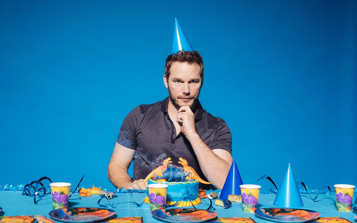 HD Wallpaper Actor, American, Cake, Chris Pratt
