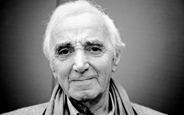 HD Wallpaper of Charles Aznavour, Шарль Азнавур,