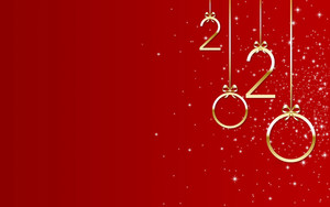 Preview wallpaper of New Year, New Year 2020, Red