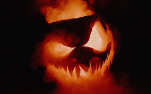 Preview wallpaper of Halloween, Jack-o'-lantern, Smoke