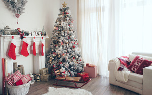 Preview wallpaper of Christmas, Christmas Ornaments, Christmas Tree