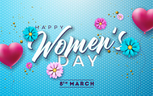 Preview wallpaper of Flower, Happy Women's Day, Women's Day