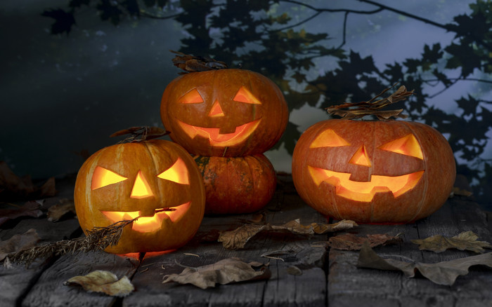 Wallpaper of Fall, Halloween, Jack-o'-lantern Leaf, Pumpkin background & HD image