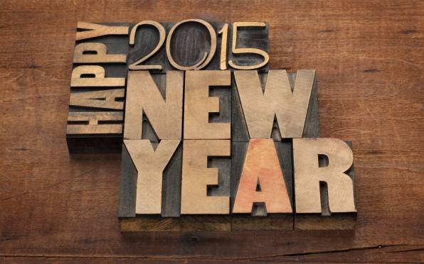 Обои Happy, New Year, 2015