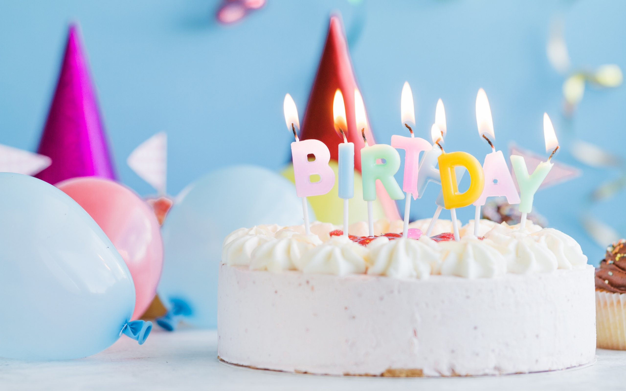 Wallpaper Of Birthday Cake Candle Pastry Background Hd Image