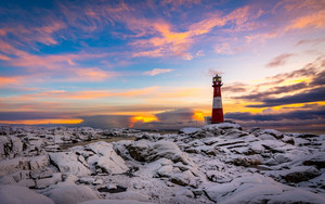 Preview wallpaper  Cloud, Lighthouse, Sky, <b>Winter</b>
