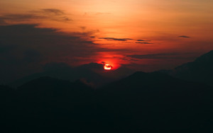 Preview wallpaper  <b>Sunset</b>, Sky, Sun, Clouds