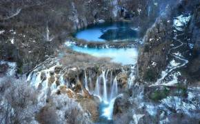 Смотреть обои national park, Republika Hrvatska, Plitvice Lakes