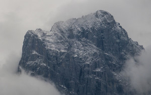Preview wallpaper of Cloud, Fog, Mountain, Snow