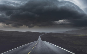 Preview wallpaper of Cloud, Road, Rain