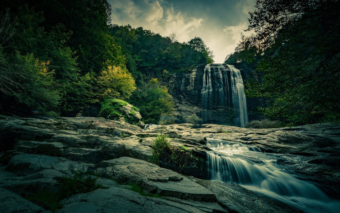 Wallpaper of Nature, Waterfall, Forest background & HD image