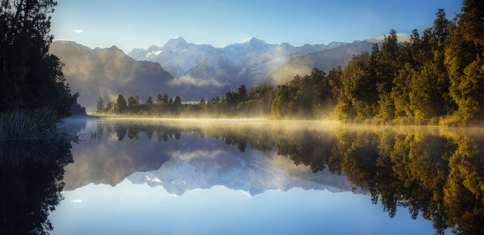 Wallpaper of Lake, Landscape, Mountain, Nature, New Zealand background & HD image