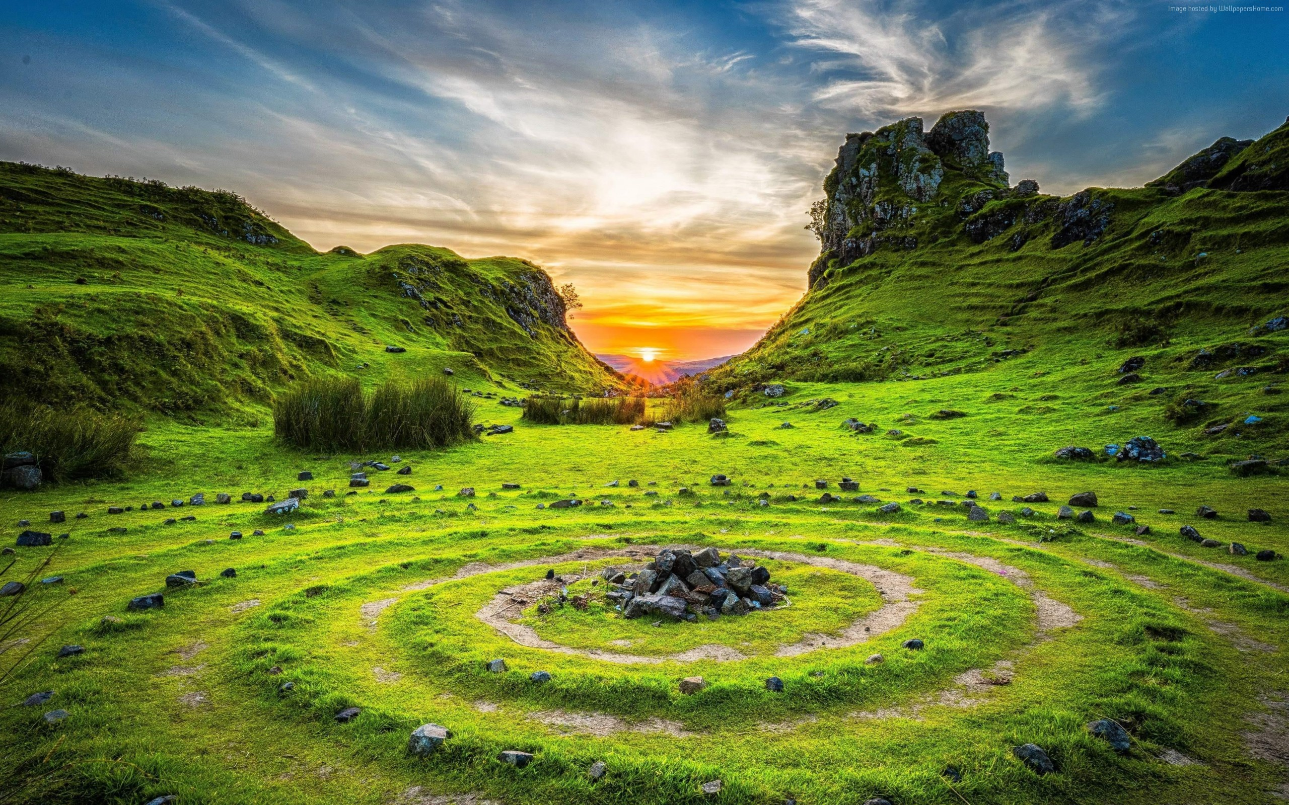 Wallpaper Of Fairy Glen Isle Of Skye Scotland Nature