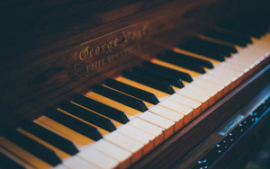 Preview wallpaper of Piano, Keys, Musical Instrument