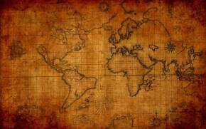 Preview wallpaper of World, Map, Old
