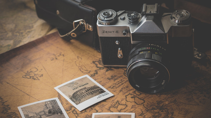 Wallpaper of Zenit-E, Retro, Camera, Photos, Map background & HD image
