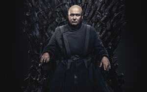 Preview wallpaper of Conleth Hill, Lord Varys, Game of Thrones, Throne