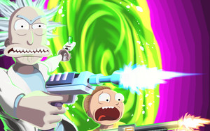 Preview wallpaper of Morty Smith, Rick Sanchez, Rick and Morty