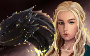 Preview wallpaper Game of Thrones, Daenerys Targaryen, Emilia Clarke