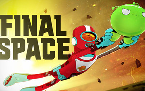 Preview wallpaper of Alien, Final Space, Flying, Gary, Goodspeed