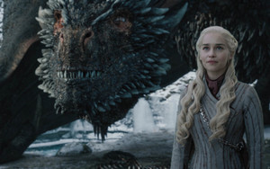 Preview wallpaper of Daenerys Targaryen, Emilia Clarke, Dragon