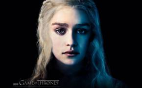 Смотреть обои Game of Thrones, Emilia Clarke, Daenerys Targarye