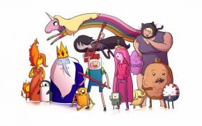 Preview wallpaper of adventure time, время приключений