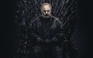 Preview wallpaper of Davos Seaworth, Liam Cunningham, Game of Thrones