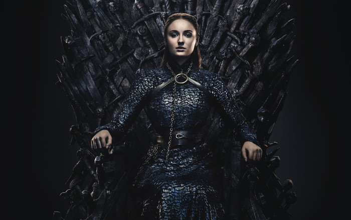 Wallpaper of Sansa Stark, Sophie Turner, Game of Throne, Throne background & HD image