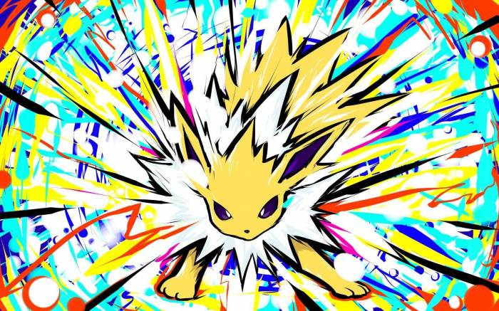 Обои Pokémon, Jolteon