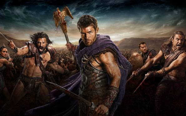 HD Wallpaper Spartacus, Спартак, War of the damned, Лиам МакИнт