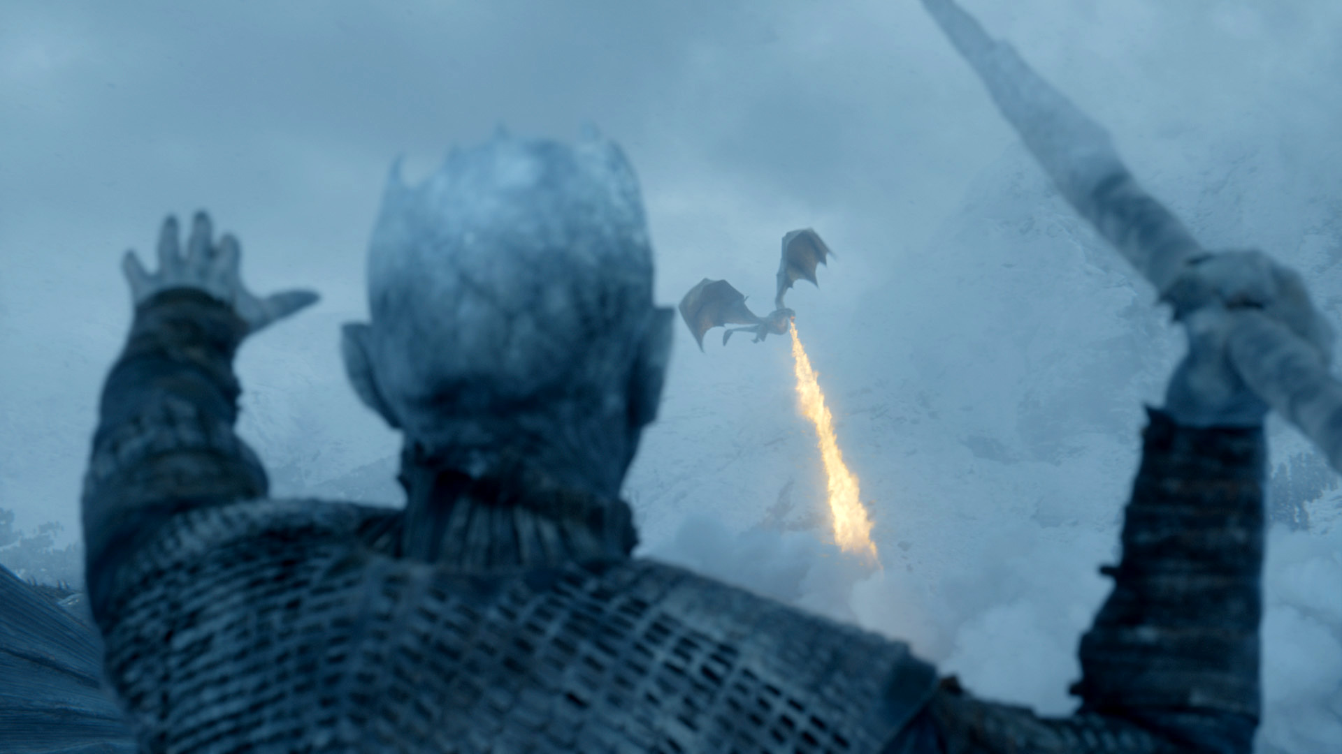 Wallpaper Of Game Of Thrones Night King Viserion Background Hd Image